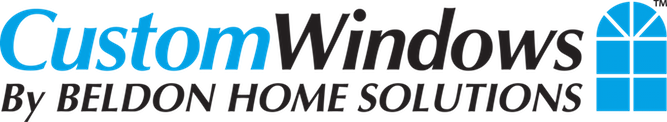 custom windows by beldon home solutions logo, get custom windows made for your home and be happy with your choise